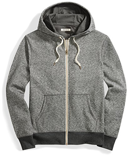 Goodthreads Mens French Terry Full-Zip Hoodie