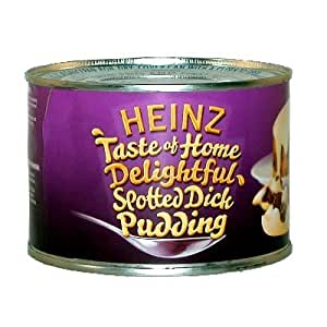 Heinz Spotted Dick Pudding 10.5oz Can/each