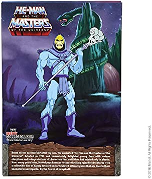 2016 MOTU Classics 2.0 Club Grayskull Filmation Skeletor by Mattel