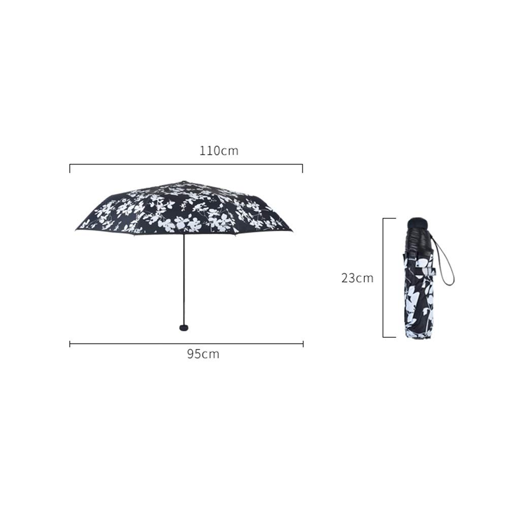 Paraguas Plegable Días Soleados y Lluviosos Parasol Anti-UV de Uso Doble Negro Pegamento Paraguas Sombrero Fresco GW (Color : Azul): Amazon.es: Equipaje