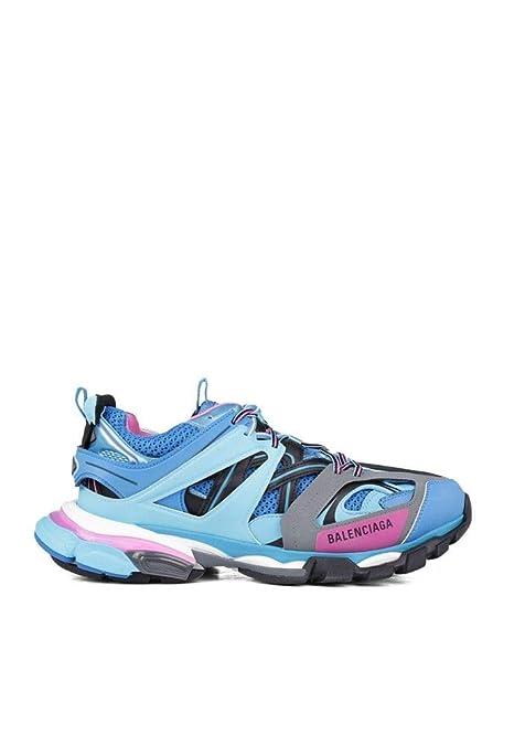Balenciaga Hombre 542023W1GB54162 Azul Claro Cuero Zapatillas: Amazon.es: Zapatos y complementos