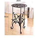 AIDELAI European cast iron flower rack shelves home flower pots decorative ornaments Patio Garden Pergolas