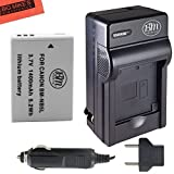 NB-5L Battery & Charger Kit Canon PowerShot S100 S110 SX200 HS SX210 HS SX230 HS Digital Camera Includes NB-5L Replacement Battery + AC/DC Battery Charger + LCD Screen Protectors + Micro Fiber Cleaning Cloth