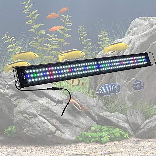 ReaseJoy Multi-Color 156 Bright SMD5730 LED Aquarium Light Over-Head Lamp...