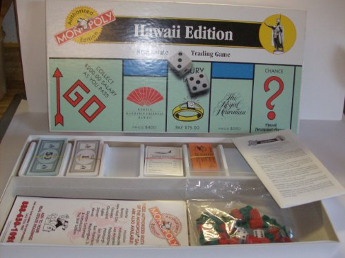 Hawaii Edition Monopoly Board Game product image