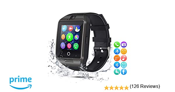 EUKK Smart Watch Reloj Inteligente para Android iOS: Amazon.es ...
