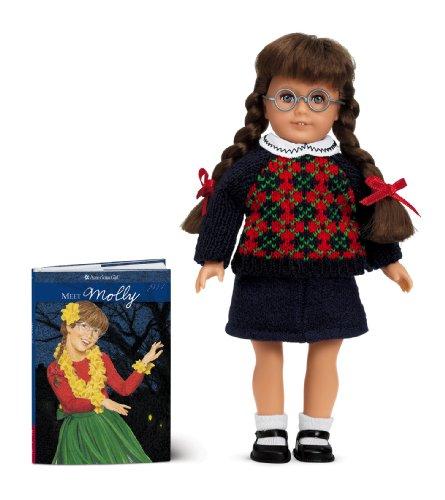 Molly Mini Doll (American Girl) (Molly American Girl Doll Books)