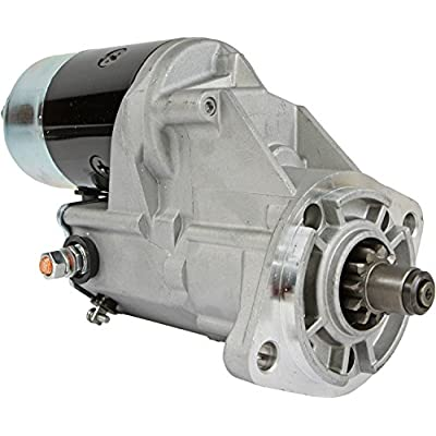 DB Electrical SND0142 Starter For Komatsu Forklift 12 Volt, CW, 11 Teeth /600-813-1420/128000-9970, 128000-9971, 128000-9972: Automotive