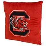 The Northwest Company NCAA South Carolina Fighting Gamecocks Square Plush Pillow, 15-Inch