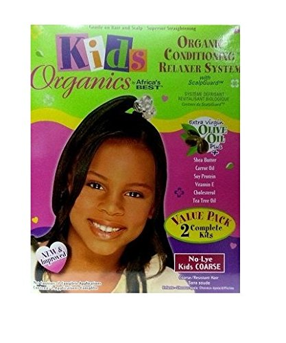 Relaxer / Glättungscreme Africa's Best Kids Organics Relaxer COARSE 2 Complete Kits Africa' s Best
