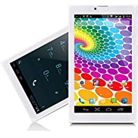 Indigi 7 Android 4.4 KitKat Tablet PC 3G Wireless Smartphone 2-in-1 Phablet ~White~