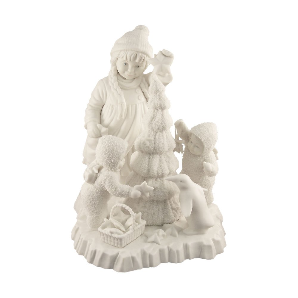 Snowbabies ''Together We Can Make the Season Bright'' Christmas Tree & Children