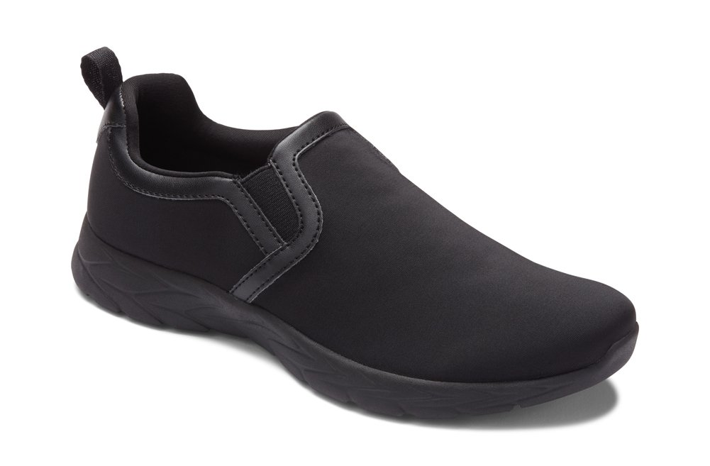 Vionic Women's Brisk Blaine Slip On B07933KKYW 10 B(M) US|Charcoal
