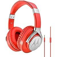 Headphone Pulse Max, Motorola Sh006, Vermelho, Único