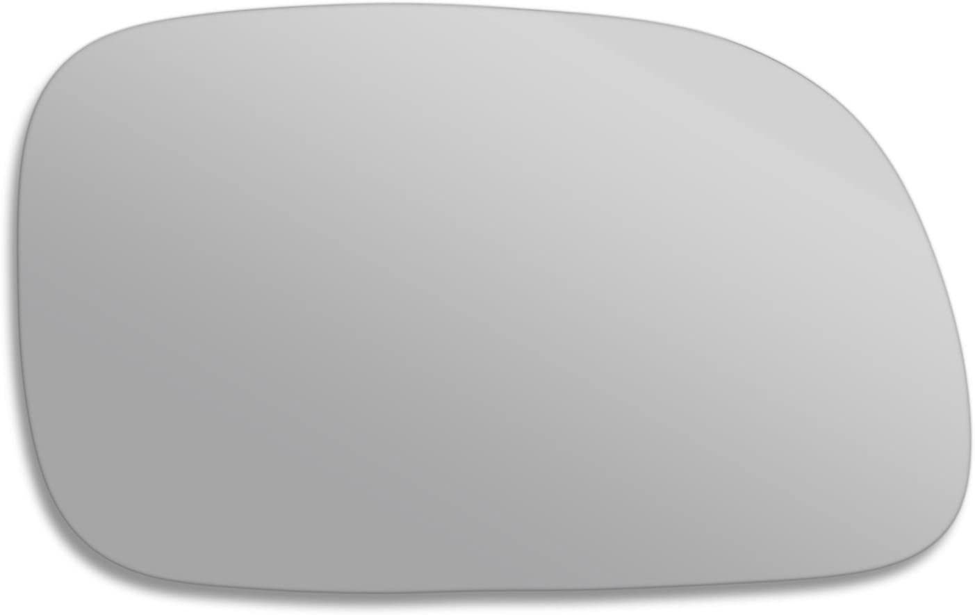 ChGra Right side wing mirror glass Real glass,door stick on mirror replacement Driver side quick fix silver #ChGr-96//07-R/_c