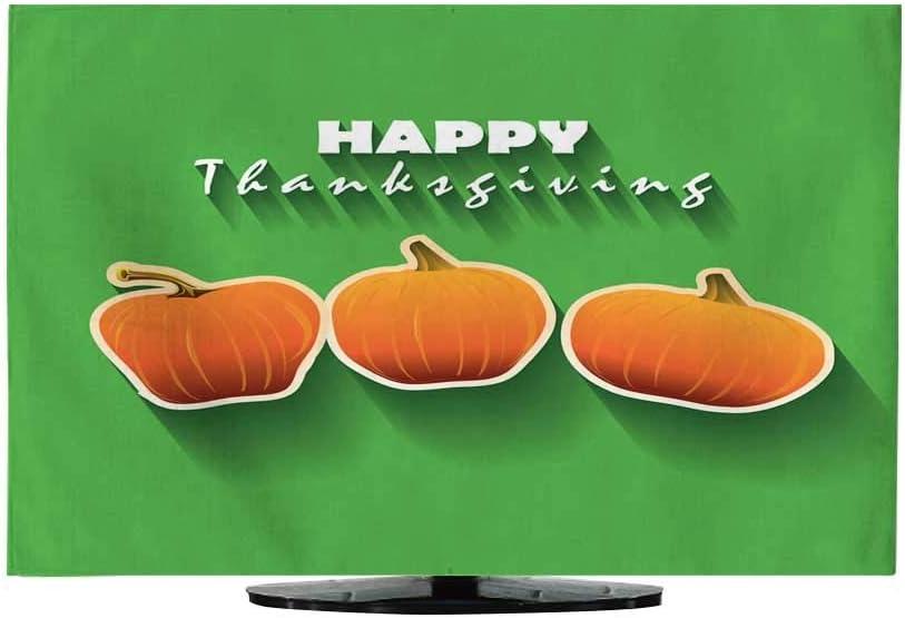 TV Cubierta a Prueba de Polvo Tela, Fondo de Acción de Gracias 730/32: Amazon.es: Electrónica