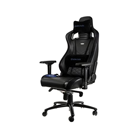 Surprising Noblechairs Epic Gaming Chair Office Chair Desk Chair Pu Faux Leather 265 Lbs 1350 Reclinable Lumbar Support Cushion Racing Seat Design Ibusinesslaw Wood Chair Design Ideas Ibusinesslaworg