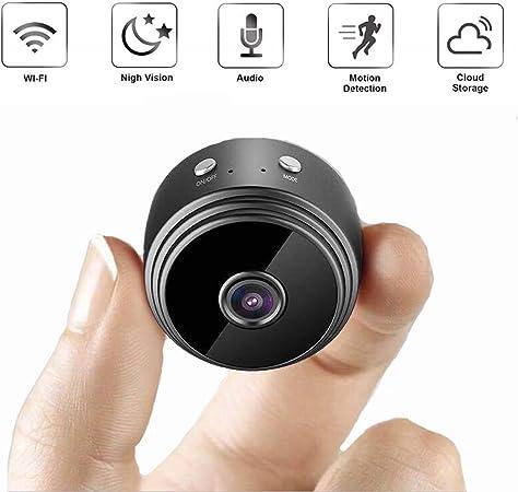 ZMM 1080P cámara de Interior, teléfono inalámbrico Monitor HD móvil a Distancia por Infrarrojos de visión Nocturna para Ancianos bebé Animales: Amazon.es: Hogar
