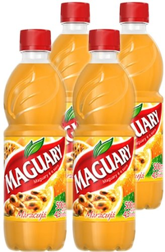 Maguary Passion Fruit Juice Concentrate - 16.9 FL.Oz - Suco Concentrado de Maracujá Maguary - 500ml,pack of ()