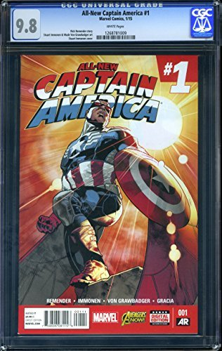 All-New Captain America #1 - CERTIFIED CGC 9.8