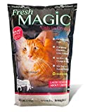 Fresh Magic Crystal Litter Round Shaped - VIRTUALLY NO DUST FLY-UP. IDEAL FOR TRAY REFILLS AND AUTOMATIC LITTERBOXES. - BUY BULK DOUBLE CASE, $14.99/ 8 LBS. DELIVERED!