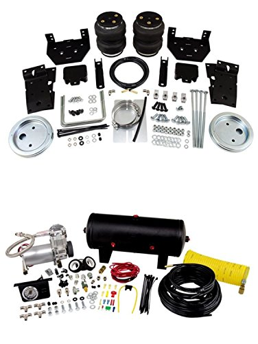 Air Lift 57399/25690 Set of Rear Load Lifter 5000 Series w/Quick Shot System Kit for Ford F-250/F-350/F-450 Super Duty (1/2 Ton Quick Lift)