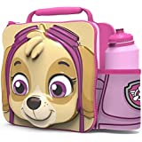 Paw Patrol Pink Skye 3D Thermal Lunch Bag with Sports Bottle
