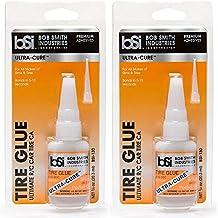Bob Smith Industries BSI-130 Ultra-Cure Tire Glue, Clear