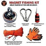King Kong Magnetics Fishing Magnet Kit with Super