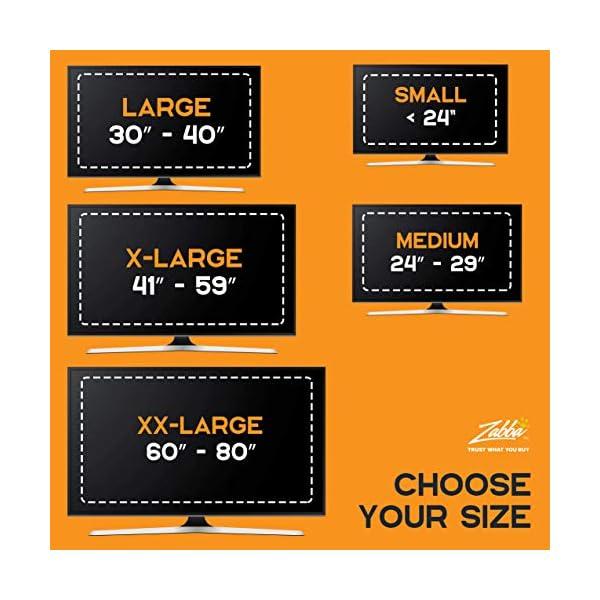 "Luminoodle Bias Lighting, Backlight Kit for Monitors up to 24"" - USB LED Light Strip - Computer Monitor Backlight - True White Adhesive Strip - White - Small (<24"" TV) 6"