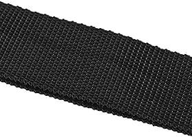 Correa de Hombro del Arnés de Nylon Negro Ajustable del Arnés para la Desbrozadora de la Podadora