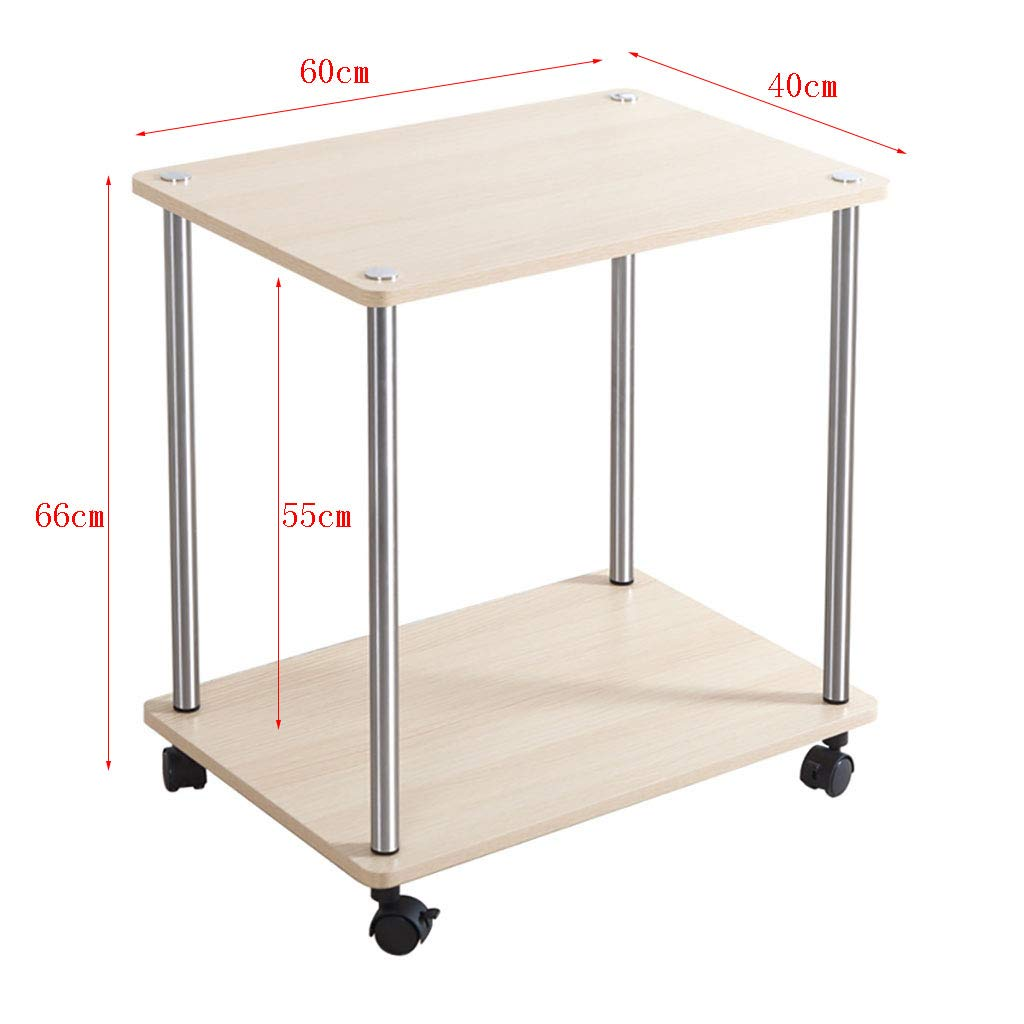 Amazon.com: Mesa de té de mesa auxiliar multiusos carrito de ...