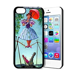 Shawnex Haunted Mansion Stretching iPhone 5C Case - Thin Shell Plastic Protective Case iPhone 5C Case