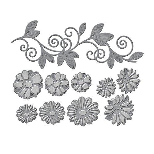 Spellbinders S6-034 Shapeabilities Flower Bundle Etched/Wafer Thin Dies