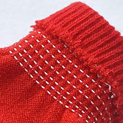 NUWFOR Women Fashion Fluffy Winter Warm Full Finger Hand Gloves Ski Wind Protect Hands White