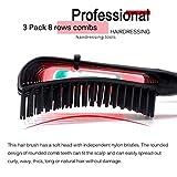 3 Pack Hair Detangler Brush for Afro