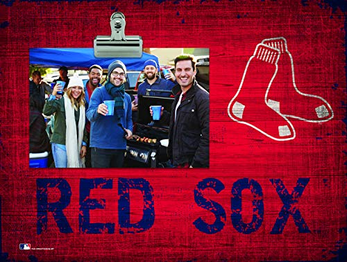 Fan Creations Boston Red Sox Team Name Clip-It Photo Frame
