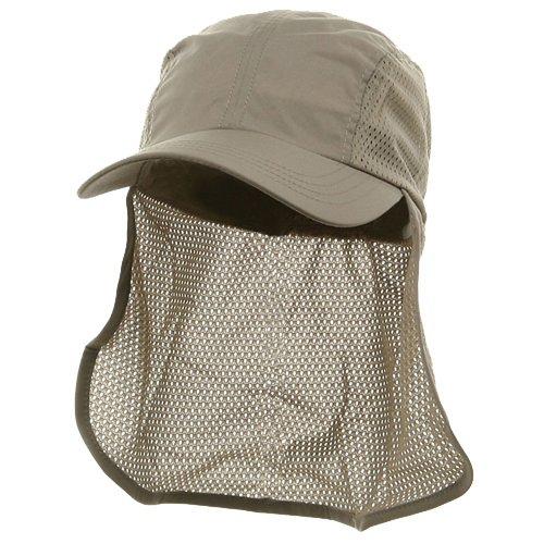 Flap Hat (01)-Khaki OSFM