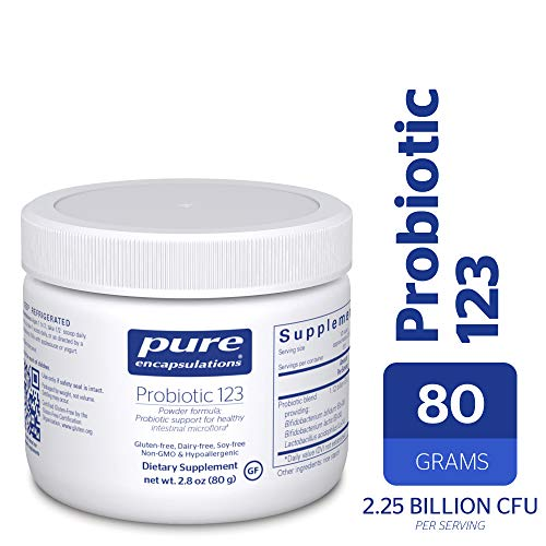 Photo of Pure Encapsulations Probiotic 123 (Dairy-Free) 80gr