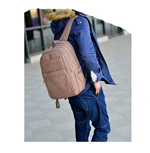 Laidaye Travel Business Men Beige Leisure Backpack purpose Multi 5rq5wBct