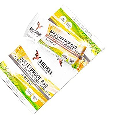 Bulletproof? Vanilla Collagen Bar, Net Wt. 1.58 oz (12 pack) by Bulletproof by Bulletproof that we recomend personally.