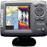 Lowrance Elite 5 Base Fishfinder/Chartplotter