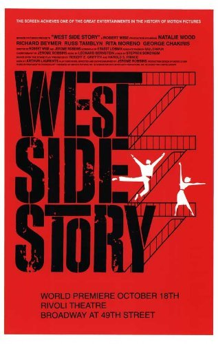 West Side Story (Broadway) POSTER Movie (11 x 17 Inches - 28cm x 44cm) () (West Side Broadway)