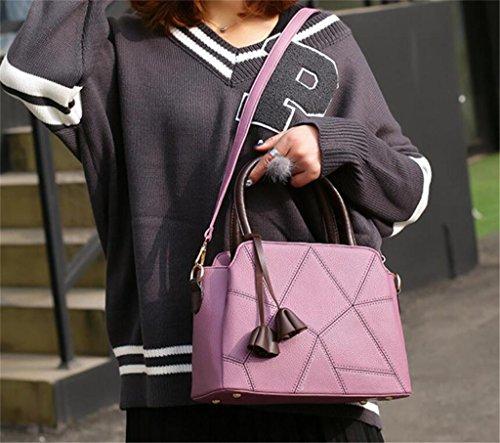bandoulière Sac purple Sac Work Shopping de Main Couleurs la à à de Cinq Unique Sac Dame SHOUTIBAO Fashion Messager wn81YdgU1q
