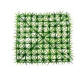 Uxcell Jardin Plastic Room Aquarium Fish Tank Decor Artificial Lawn Grass Turf