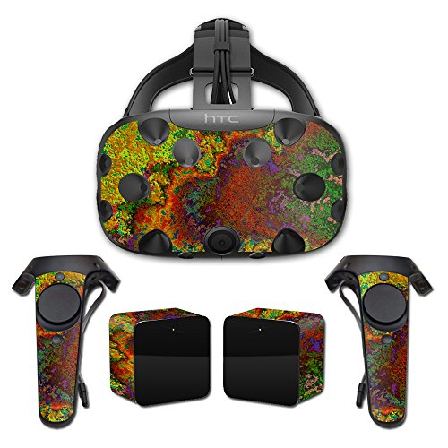 MightySkins Protective Vinyl Skin Decal for HTC Vive wrap cover sticker skins Rust from MightySkins