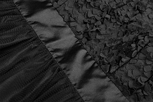 CRAVOG Damen Rokoko Süßes Kleid V-Ausschnitt Ärmellos Kleid Nettogarn Taille Kleid Sommer Kleid