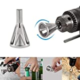 Seven Sparta Deburring External Chamfer Tool for Drill Bit Stainless Steel Removing Burr Tools
