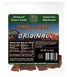 Healthy Jerky Original Turkey Jerky, 3 ounce (2 Pack)