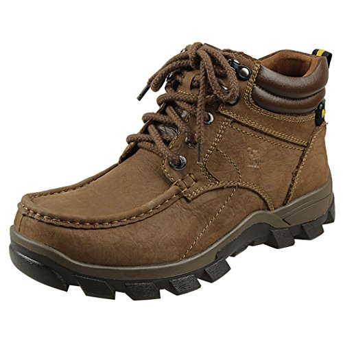 Modern Fantasy Mens Fur Nubuck Leather Logger Outdoor Leisure Sport Shoes Backpacking Boots Size 8 US - Northlake Stores